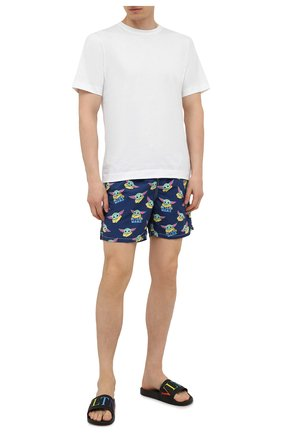 Мужские плавки-шорты MC2 SAINT BARTH темно-синего цвета, арт. STBM GUSTAVIA/GUS0001 | Фото 2