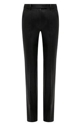 Женские брюки из экокожи GIUSEPPE DI MORABITO черного цвета, арт. PF21050PA-138 | Фото 1