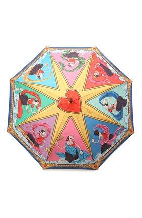 Женский зонт-трость MOSCHINO разноцветного цвета, арт. 7979-63AUT0 | Фото 1