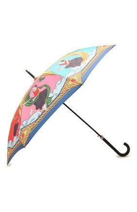 Женский зонт-трость MOSCHINO разноцветного цвета, арт. 7979-63AUT0 | Фото 2