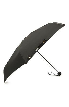 Женский складной зонт MOSCHINO черного цвета, арт. 8042-SUPERMINI | Фото 2