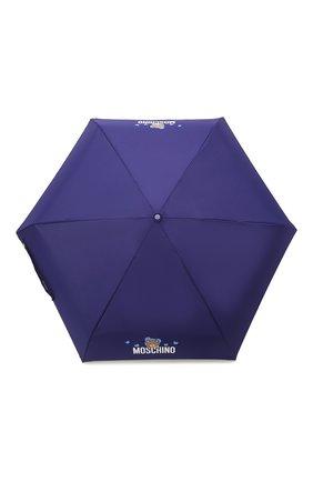 Женский складной зонт MOSCHINO синего цвета, арт. 8042-SUPERMINI | Фото 1