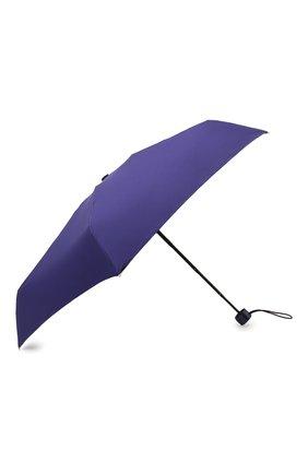 Женский складной зонт MOSCHINO синего цвета, арт. 8042-SUPERMINI | Фото 2