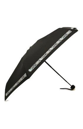 Женский складной зонт MOSCHINO черного цвета, арт. 8123-SUPERMINI | Фото 2