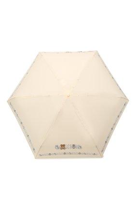 Женский складной зонт MOSCHINO кремвого цвета, арт. 8123-SUPERMINI | Фото 1