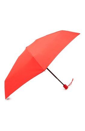 Женский складной зонт MOSCHINO красного цвета, арт. 8211-C0MPACT | Фото 2