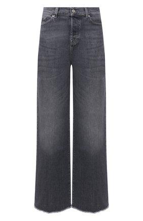 Женские джинсы 7 FOR ALL MANKIND серого цвета, арт. JSZ0R78TGR | Фото 1