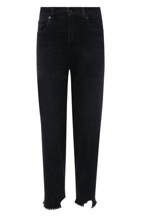 Женские джинсы 7 FOR ALL MANKIND темно-серого цвета, арт. JSA7B94TAN | Фото 1