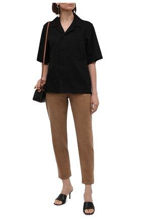 Женские джинсы POLO RALPH LAUREN светло-коричневого цвета, арт. 211834022 | Фото 2 (Длина (брюки, джинсы): Стандартные; Материал внешний: Хлопок; Силуэт Ж (брюки и джинсы): Прямые; Стили: Кэжуэл; Кросс-КТ: Деним)