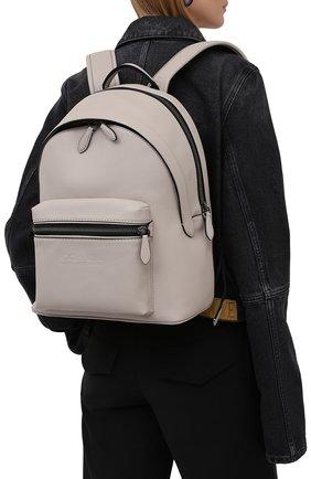 Женский рюкзак charter COACH кремвого цвета, арт. C2286 | Фото 2