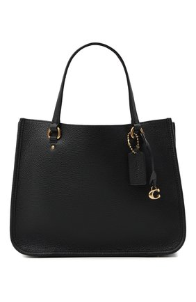 Женская сумка-тоут tyler COACH черного цвета, арт. C3460   Фото 1