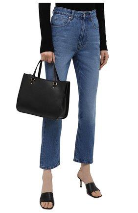 Женская сумка-тоут tyler COACH черного цвета, арт. C3460   Фото 2