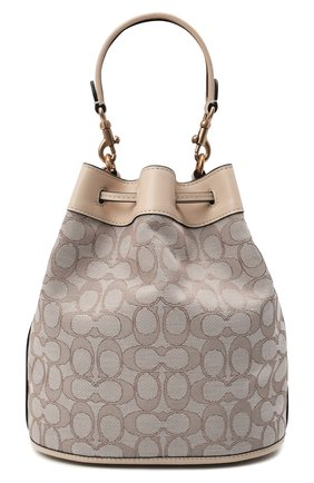 Женская сумка field COACH бежевого цвета, арт. C3853   Фото 1