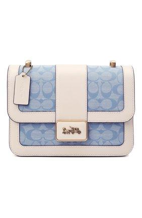 Женская сумка alie COACH голубого цвета, арт. C4691   Фото 1