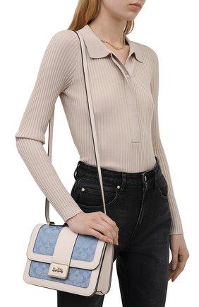 Женская сумка alie COACH голубого цвета, арт. C4691   Фото 2