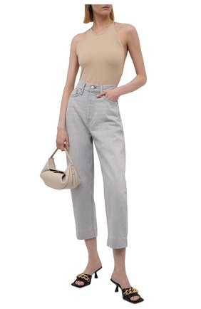 Женские джинсы RAG&BONE светло-серого цвета, арт. WDD21P2727W5AN | Фото 2