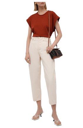 Женские джинсы RAG&BONE кремвого цвета, арт. WDD20F2727X7SH | Фото 2