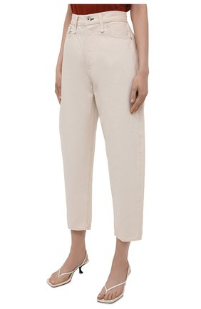 Женские джинсы RAG&BONE кремвого цвета, арт. WDD20F2727X7SH | Фото 3