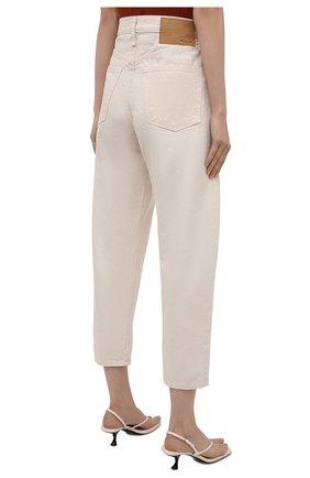 Женские джинсы RAG&BONE кремвого цвета, арт. WDD20F2727X7SH | Фото 4