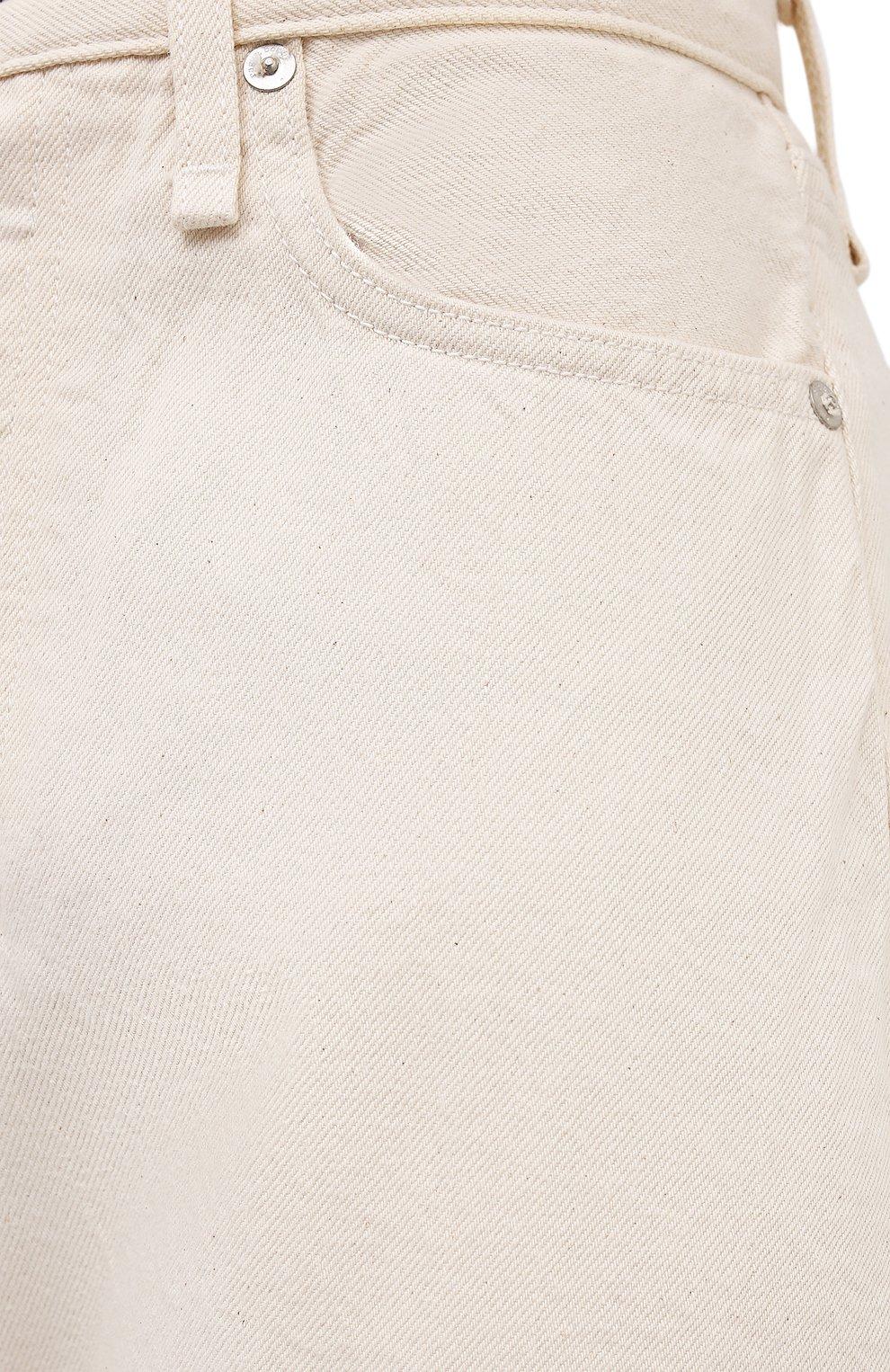 Женские джинсы RAG&BONE кремвого цвета, арт. WDD20F2727X7SH | Фото 5