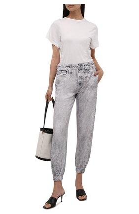 Женские джинсы RAG&BONE серого цвета, арт. WCW21P70037C03 | Фото 2