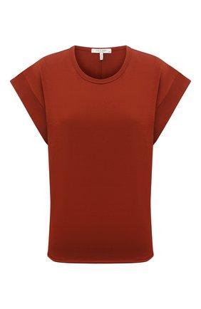 Женская хлопковая футболка RAG&BONE  цвета, арт. WCC21PT025PP25 | Фото 1
