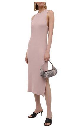 Женское хлопковое платье RAG&BONE светло-розового цвета, арт. WCC21P3010CA10 | Фото 2