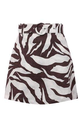 Льняная юбка-шорты | Фото №1
