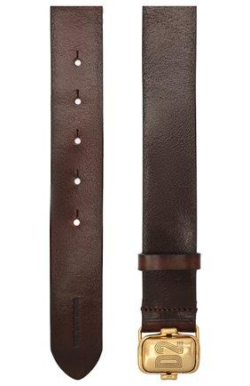 Женский кожаный ремень DSQUARED2 коричневого цвета, арт. BEW0266 12900001 | Фото 2