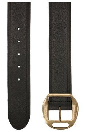 Женский кожаный ремень DSQUARED2 черного цвета, арт. BEW0263 12900001 | Фото 2