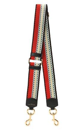Женские текстильный ремень для сумки MARC JACOBS (THE) разноцветного цвета, арт. S302M02PF21   Фото 1