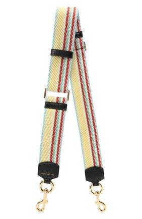 Женские текстильный ремень для сумки MARC JACOBS (THE) желтого цвета, арт. S302M02PF21   Фото 1