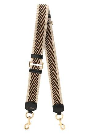 Женские текстильный ремень для сумки MARC JACOBS (THE) бежевого цвета, арт. S306M02PF21   Фото 1