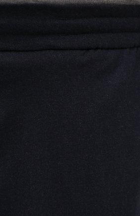 Мужские кашемировые брюки MARCO PESCAROLO темно-синего цвета, арт. CHIAIAM/ZIP+SFILA/4442   Фото 5 (Big sizes: Big Sizes; Материал внешний: Шерсть, Кашемир; Длина (брюки, джинсы): Стандартные; Случай: Повседневный; Стили: Кэжуэл)