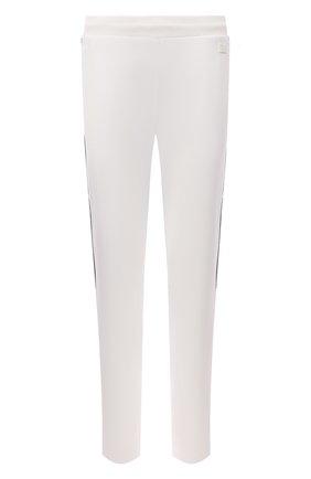 Мужские шерстяные брюки Z ZEGNA белого цвета, арт. VY470/ZZTP25 | Фото 1 (Материал внешний: Шерсть; Длина (брюки, джинсы): Стандартные; Случай: Повседневный; Кросс-КТ: Спорт; Мужское Кросс-КТ: Брюки-трикотаж; Стили: Спорт-шик)