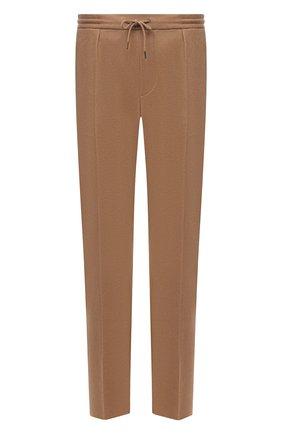 Мужские шерстяные брюки RALPH LAUREN светло-бежевого цвета, арт. 798851739 | Фото 1 (Материал внешний: Шерсть; Длина (брюки, джинсы): Стандартные; Случай: Повседневный; Стили: Кэжуэл)