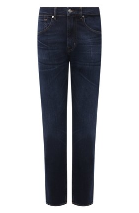Мужские джинсы 7 FOR ALL MANKIND темно-синего цвета, арт. JS00L390DE | Фото 1