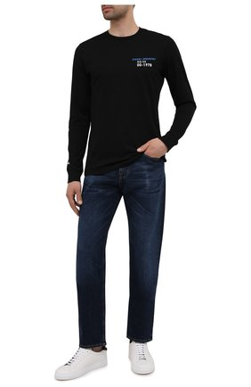 Мужские джинсы 7 FOR ALL MANKIND темно-синего цвета, арт. JS00L390DE | Фото 2