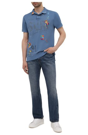 Мужские джинсы 7 FOR ALL MANKIND синего цвета, арт. JS000660SE | Фото 2