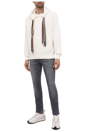 Мужские джинсы 7 FOR ALL MANKIND серого цвета, арт. JSD4R860TW | Фото 2
