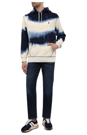 Мужские джинсы 7 FOR ALL MANKIND темно-синего цвета, арт. JSMNR460LL | Фото 2