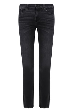Мужские джинсы 7 FOR ALL MANKIND темно-серого цвета, арт. JSMSB820LG | Фото 1