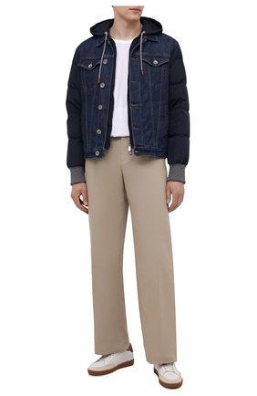 Мужская комбинированная куртка ELEVENTY темно-синего цвета, арт. D70GBTD04 TET0D023 | Фото 2