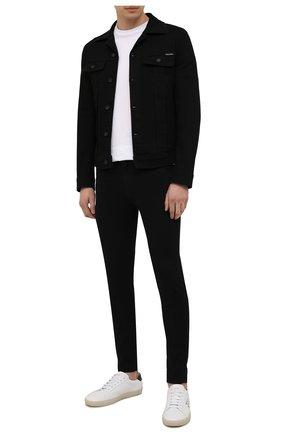 Мужские джинсы DIESEL черного цвета, арт. A00712/069EI | Фото 2