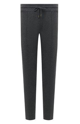 Мужские брюки из хлопка и кашемира CANALI серого цвета, арт. T0707/MX01298 | Фото 1