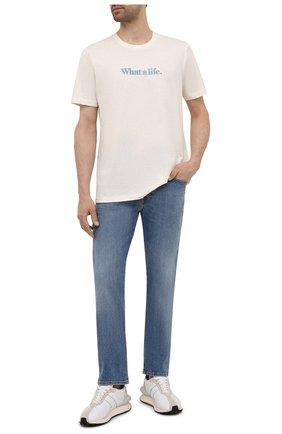 Мужские джинсы DIESEL синего цвета, арт. A00390/009ZR | Фото 2