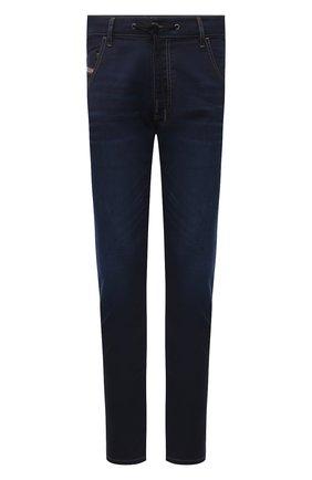 Мужские джинсы DIESEL темно-синего цвета, арт. A00879/Z69VZ | Фото 1