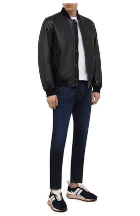 Мужские джинсы DIESEL темно-синего цвета, арт. A00879/Z69VZ | Фото 2