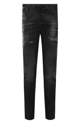 Мужские джинсы DIESEL темно-серого цвета, арт. A01897/09B53 | Фото 1