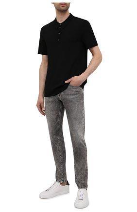 Мужские джинсы DIESEL серого цвета, арт. 00SPW5/009KA | Фото 2